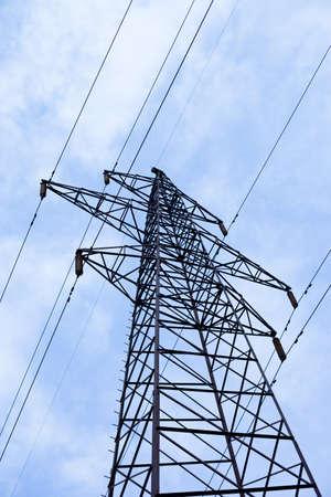 torres de alta tension: Línea de transmisión de energía