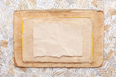 grunge paper card Stock Photo - 12018927