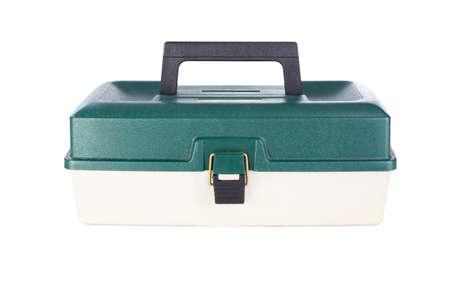 Tool box isolated on white background Stock Photo - 12817172