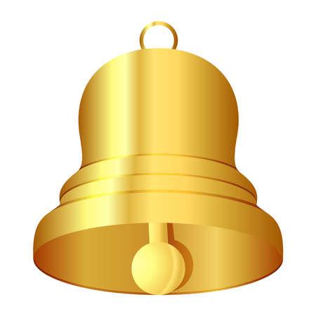 Vector illustration of bell