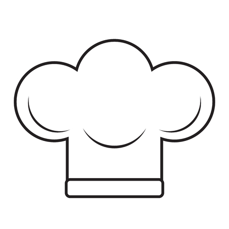 Vector illustration of Chefs Hat