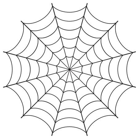 クモの巣のベクトル イラスト  イラスト・ベクター素材