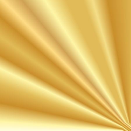 Vector illustratie van de gouden achtergrond