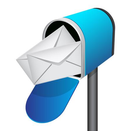 Vector illustratie van de mailbox