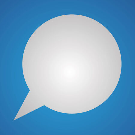 Vector illustration of text message balloons Vector