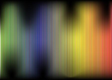 decibels: Vector illustration of Rainbow Colours