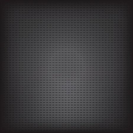 black metallic background: Vector illustration of black metallic grid texture background