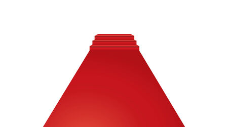 red carpet event: Vector illustration of Red Carpet