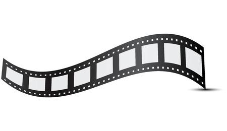 roll film: Ilustraci�n del vector de la pel�cula