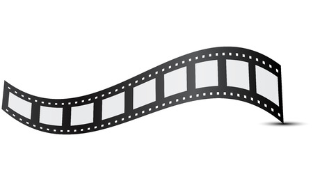 photo strip: Vector illustration of film Illustration