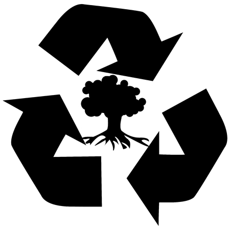 recycling symbol: Vector illustration of Recycling symbol