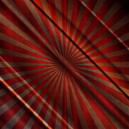 red stage curtain: Vector illustration of red background Illustration