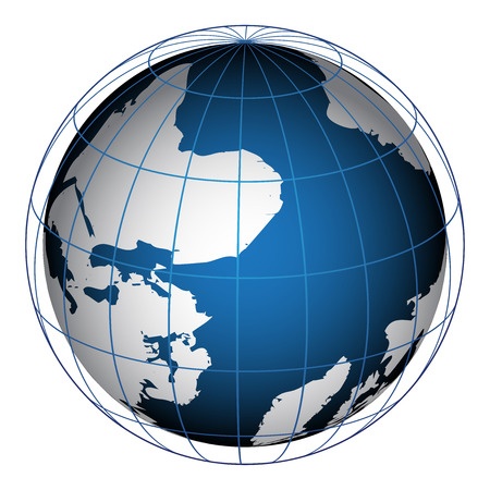 Vector illustration of globe 向量圖像