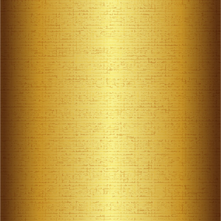 metalic texture: Vector illustration of gold background Illustration