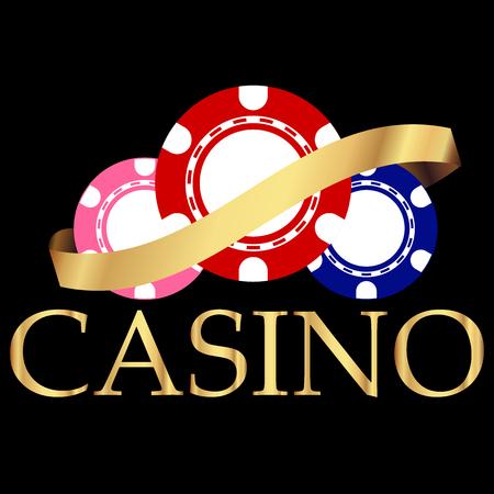 Vector illustratie van Casino