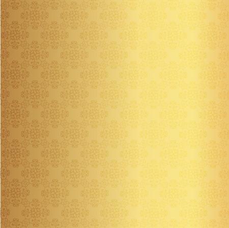 Vektor-Illustration der Goldgrund Standard-Bild - 40733134