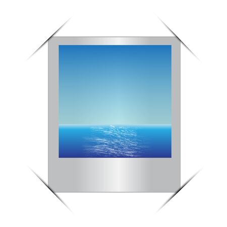 feature film: Vector illustration of photo frame