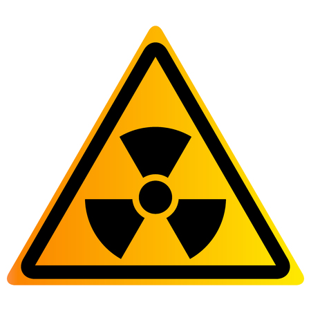 Vector illustration of nuclear waste