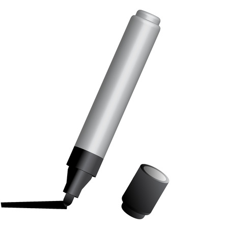 Vector illustration of marker pen
