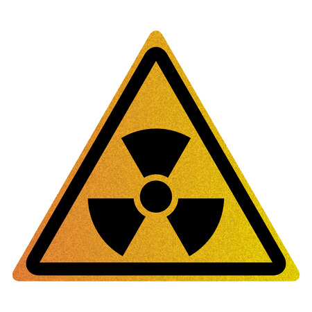 Vector illustration of Nuclear symbol