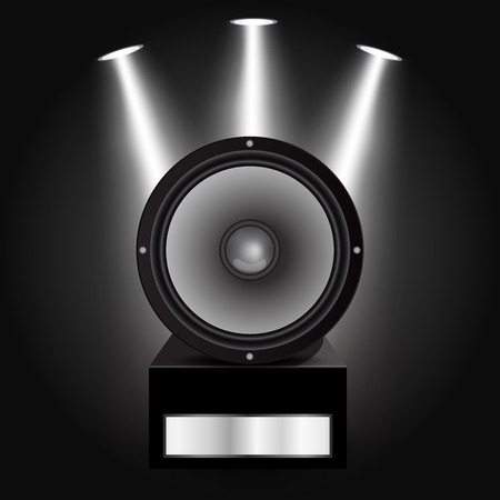Vector illustration of Loudspeaker Illustration