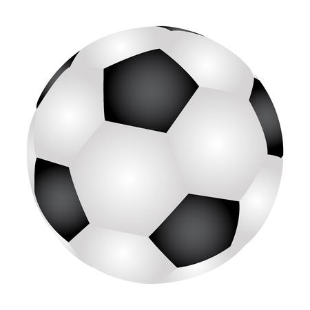 pelota de futbol: Ilustración del vector del balón de fútbol Vectores