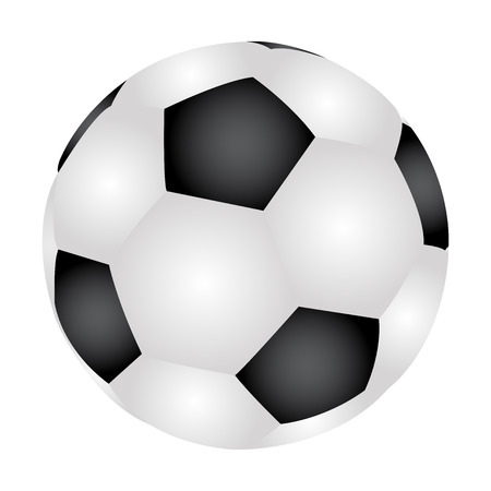 kick ball: Vector illustration of Soccer Ball
