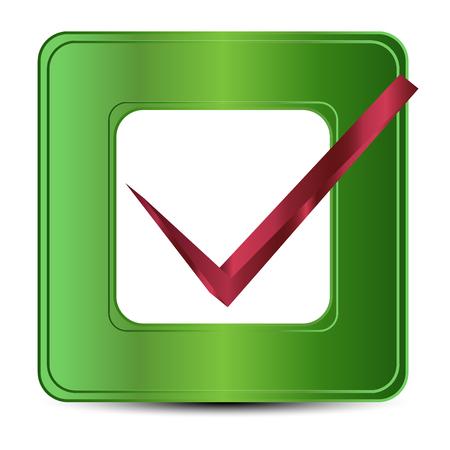 check icon: Vector illustration of check icon