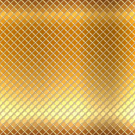 piso piedra: Ilustración vectorial de fondo de mosaico de oro