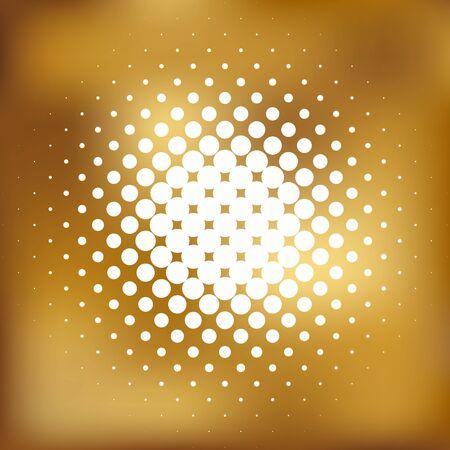metalic sheet: Vector illustration of gold background Stock Photo