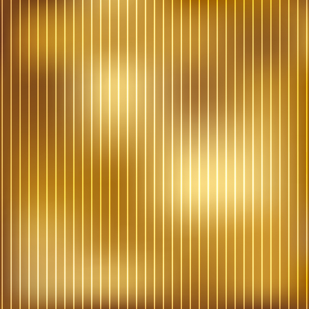 brass plate: Vector illustration of gold background Illustration