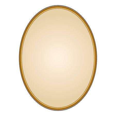 Vector illustration of Mirror