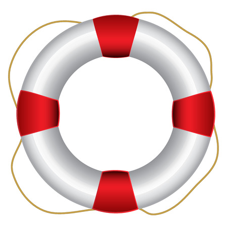 saver: Vector illustration of Life Saver Stock Photo