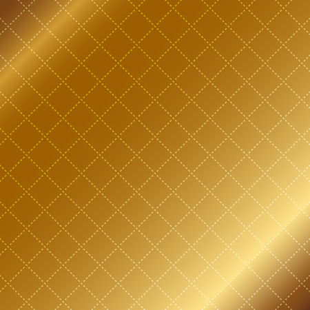 Vector illustration of Vector gold background with stripes Illustration