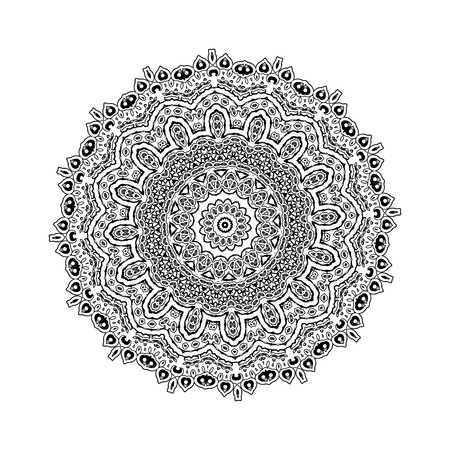 Vector illustration of mandala