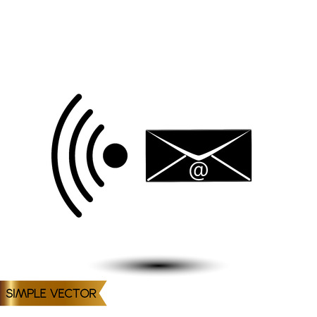 Vector illustration of envelope icon