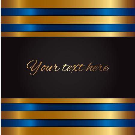 Vectorillustratie van gouden achtergrond Stock Illustratie