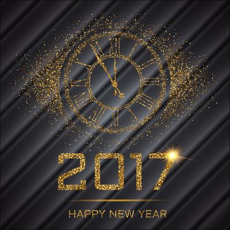 Happy New Year Stock Illustratie