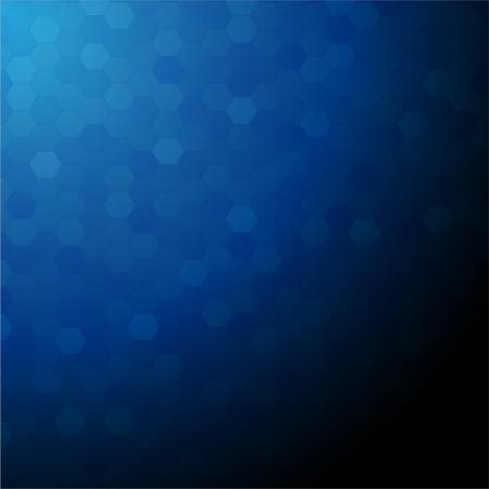 Vector afbeelding van een blauwe achtergrond Stock Illustratie