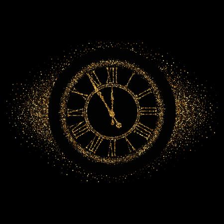 Clock Icon Vector.
