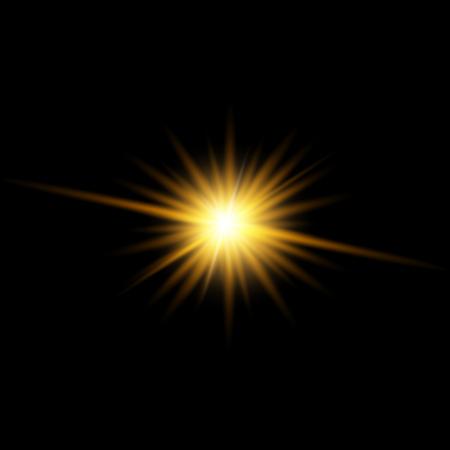 Vectorillustratie van sparkle.
