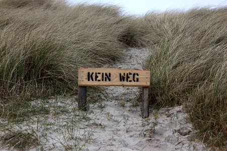 Signs and Writing on Sylt Island
