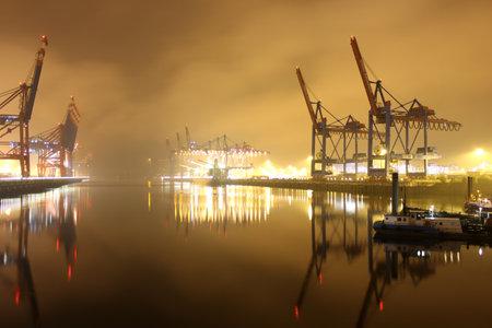 Eurokai Wharfage in Hamburg