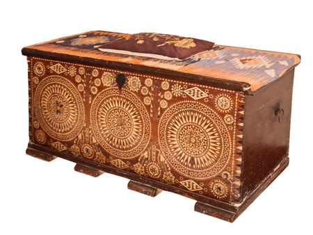 Antique chest. Khans harem. photo