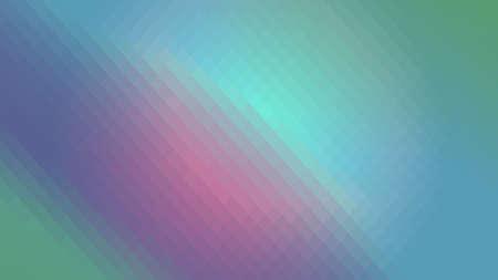 Wallpaper background pink blue green gradient in polygonal rhombuses