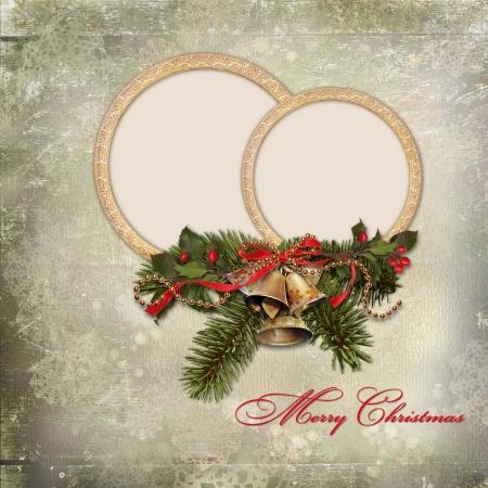 victorian christmas: Vintage Christmas card