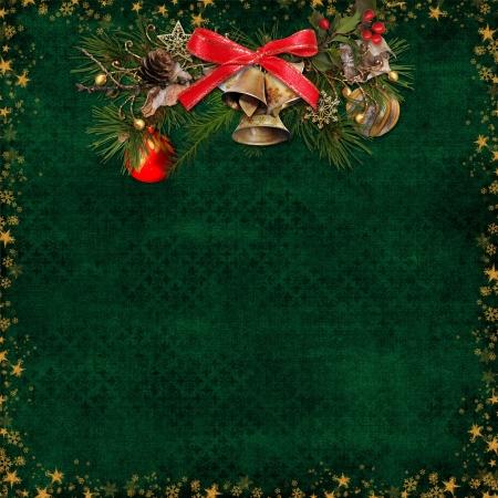 cartoline vittoriane: Natale sfondo