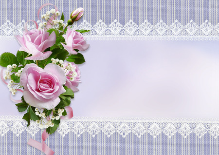 mammy: Greeting card with roses