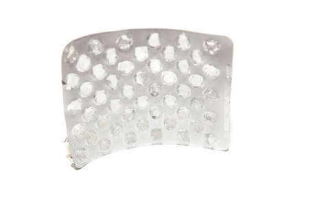 Pharmacological packaging. Blister pack for round tablets. All tablets are used Reklamní fotografie