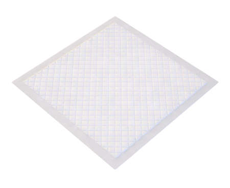 3d disposable flat bed sheet with square texture